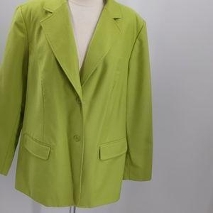 Chadwicks green blazer-sz 18W
